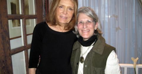 Gloria Steinem and Zoh