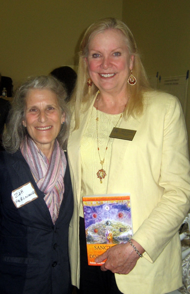 Zoh with Vicki Almond, Second District Councilwoman and Chairwoman of the Baltimore County Council