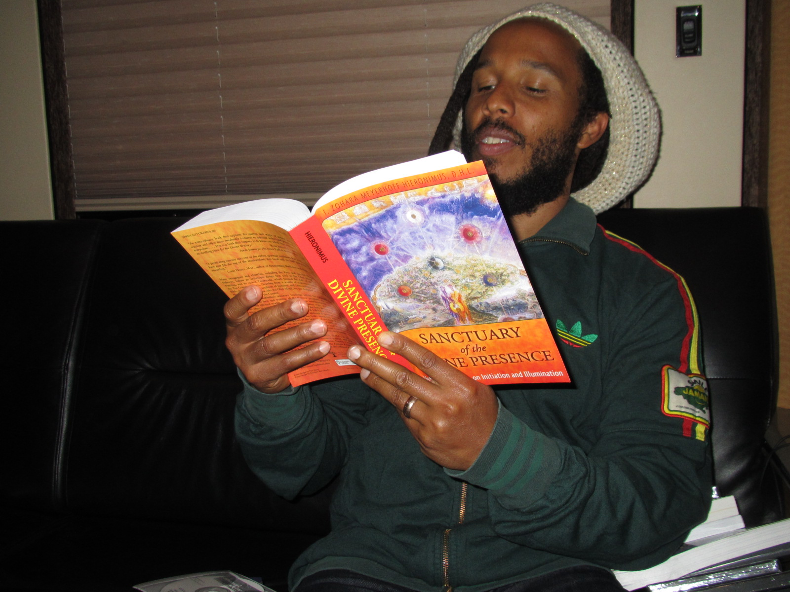 Ziggy Marley Reading Sanctuary of the Divine Presence