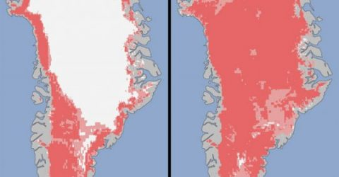 Greenland-Ice-Sheet-Melt