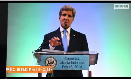 Kerry calls climate change 'weapon of mass destruction'