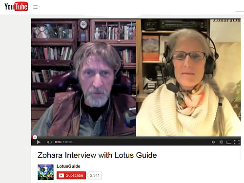 Zohara Interview with Lotus Guide Radio