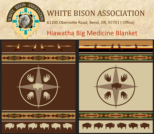 Support the White Bison Association