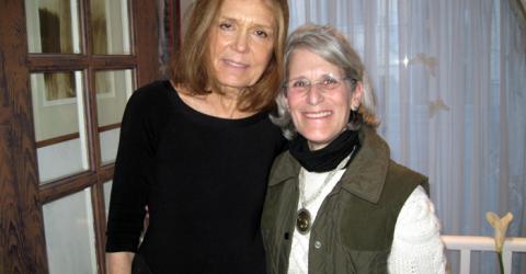 Gloria Steinem and Zoh