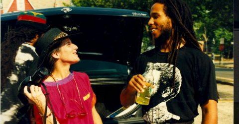 Zoh with Reggae Musician Ziggy Marley